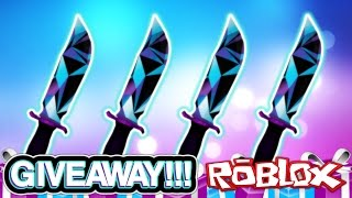 JD KNIFE GIVEAWAY!!! (RAREST KNIFE EVER) | Murder Mystery 2