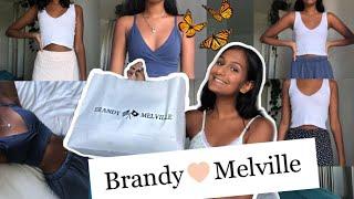 HUGE Brandy Melville Try On Haul