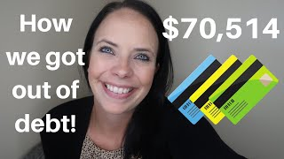 HOW WE PAID OFF 70K OF DEBT! 💰 OUR DEBT FREE JOURNEY