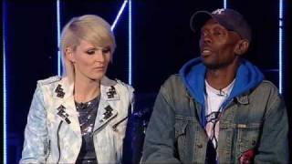 Sister Bliss and Maxi Jazz talk about the track 'Flyin High' from the new album 'The Dance'.