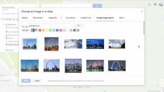 Add & Customize Pin in Google My Maps