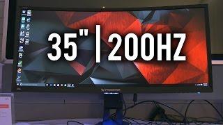 """Acer Predator Z35 - 35"""" 200Hz 21:9 Gaming Monitor"""