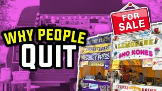 Top 3 Reasons People Quit the Food Concessions Business