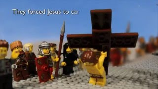 Good Friday and Easter Story with Lego - Death & Resurrection of Jesus Christ