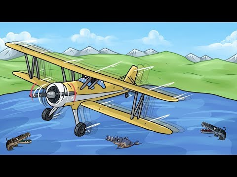 Letadlo a Vodní Výběh!