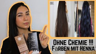 Haare färben mit Henna! Vor- und Nachteile + DEMO