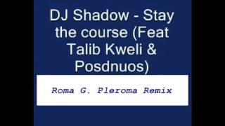 DJ Shadow - Stay The Course (feat. Talib Kweli & Posdnuos) (Roma G. Pleroma Remix) 2016