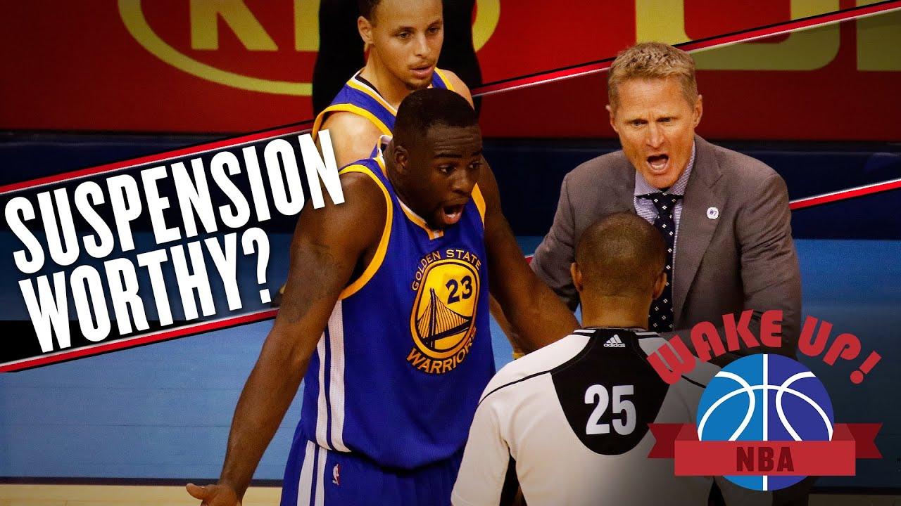 The real issue of Draymond Green's kick to the balls (Wake Up, NBA) thumbnail
