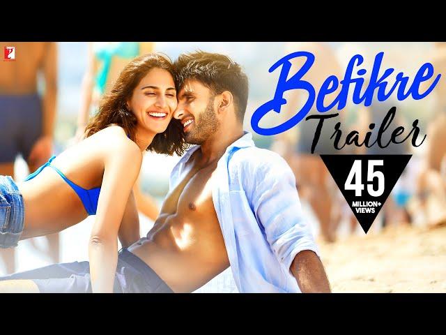 Ranveer Singh Befikre Official Trailer 2016 | Aditya Chopra | Vaani Kapoor