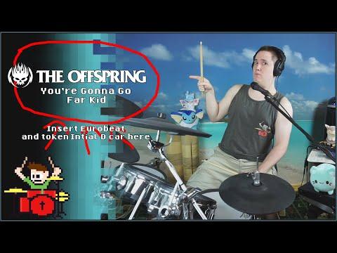 You're Gonna Go Far, Kid Eurobeat Remix On Drums!