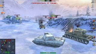 World of Tanks Blitz - VK 100.01 P gameplay