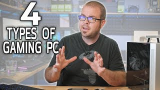 All Gaming PCs Fit Into These 4 Categories