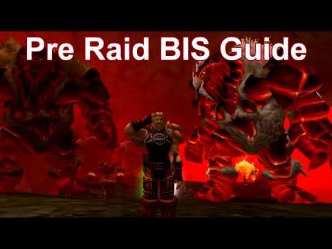 Classic WoW - Warrior Pre-Raid BIS Guide - Vanilla WoW