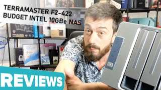 TerraMaster F2-422 10Gbe NAS Hardware Review