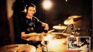 "36 Crazyfists - Vast and Vague ""Mateus Saldanha"" (Drum Cover)"