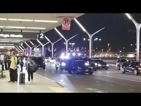Laxpd on a car stop at lax