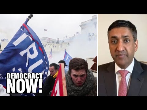 Rep. Ro Khanna: Republicans Should Back Impeachment After Trump Incited Mob Violence Against Them