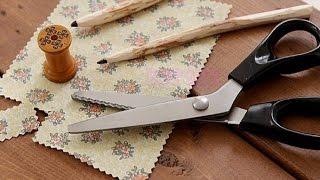 Профессиональные ножницы ZIG ZAG c Алиэкспресс для тканей и поделок ручной работы