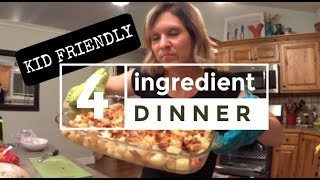 4 Ingredient Kid Friendly EASY Dinner | Pinterest WIN & Dance Party! | Low Carb Dinner Option