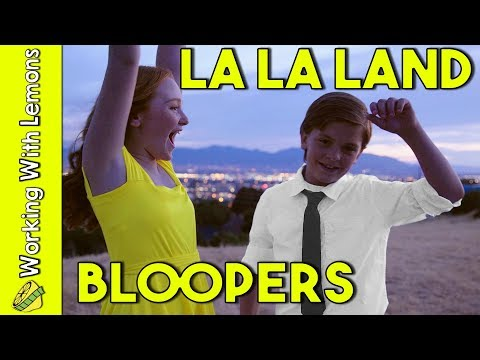 Bloopers and Behind the Scenes of A Lovely Night - La La Land