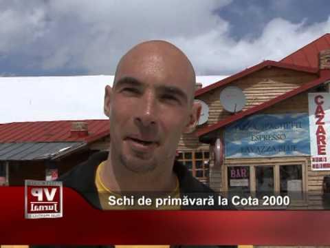 Schi de primăvară la Cota 2000