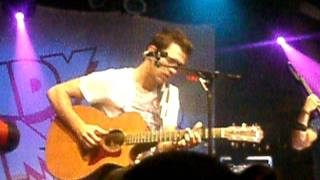 Andy Grammer The Heavy and the Slow NYC