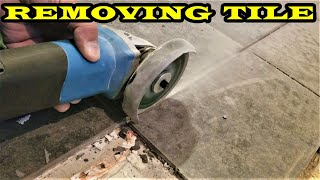 How to remove Ceramic & Stone Tiles quick and easy!