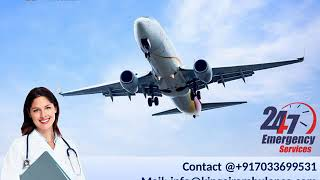 Get King Emergency Air Ambulance Service in Bagdogra and Bhopal at Low Rate