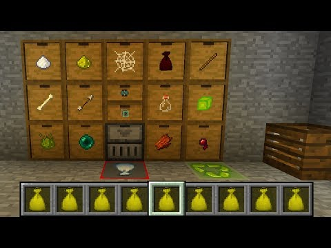 EASY DRAWER SYSTEM FOR MOB FARM   #6 Modded Minecraft (1.12.2)   Minecraft STONEBLOCK MOD