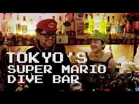 Tokyo's Super Mario themed bar