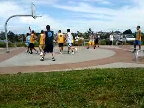 Owairaka park basketball tournament 3