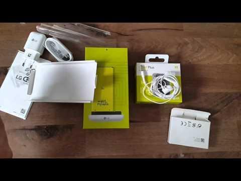 LG G5 und Cam Plus Modul Unboxing, Ersteindrücke, u.v.m.