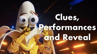 Banana | Clues, Performances and Reveal | Season 3 | THE MASKED SINGER