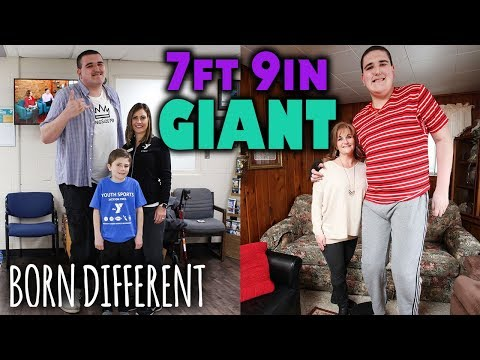 7ft 9in Giant Lands His First Ever Job | BORN DIFFERENT