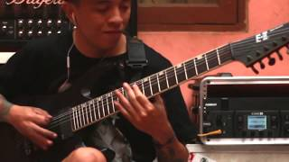 DEAD WITH FALERA - TAJAM (Guitar Playthrough By Kumank)