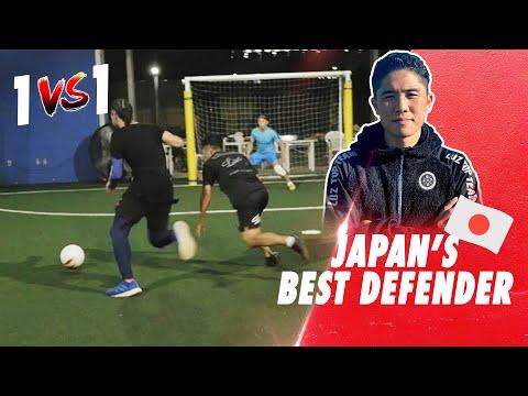 BEST JAPAN'S DEFENDER VS SEAN GARNIER ! Crazy 1 vs 1