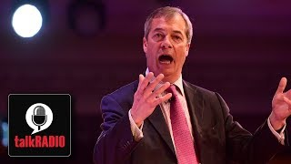 Nigel Farage warns Theresa May over Brexit