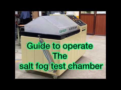 Salt Spray Chamber Corrosion Test Chamber Astm B-117