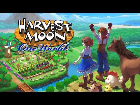 Harvest Moon: One World Launch Trailer