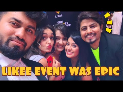 MEETING TV CELEBRITIES  AT LIKEE EVENT | Vlog115