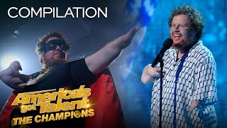ALL of Ryan Niemiller's FULL Performances! - America's Got Talent: The Champions