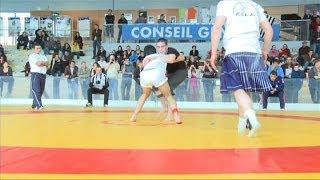 preview picture of video '2010 lutte celtique championnats d'Europe espoirs et féminines à Ploufragan'