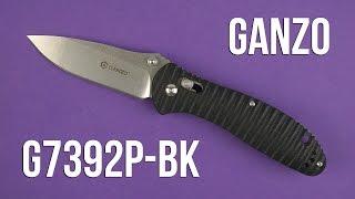 Ganzo G7392P-BK - відео 1