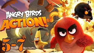 Angry Birds Gameplay Part 5 And 7   Let's PLAY Angry Birds With GERTIT