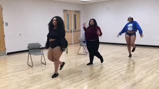 """""""Curvaceous Behavior"""" Plus Size Dance Team"""