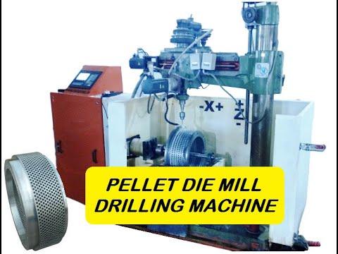 CNC Pellet Die Drilling Machine