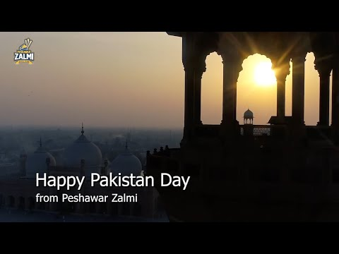 Happy Pakistan Day from Peshawar Zalmi