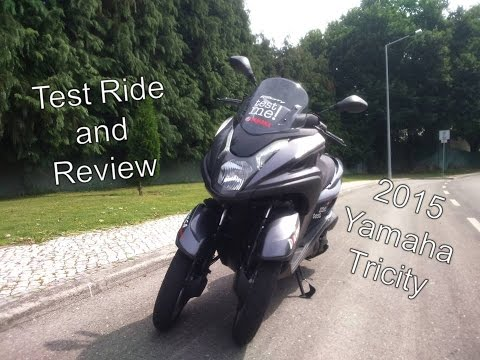 Yamaha Tricity Test Ride and Review