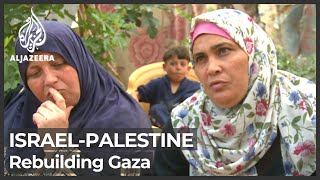 Families in Gaza return to their destroyed homes