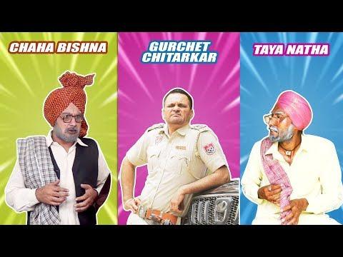 Download Best Comedy Compilation | Chacha Bishna, Gurchet Chitarkar, Taya Natha | New Comedy Videos 2017 HD Mp4 3GP Video and MP3